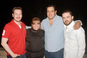 Daniel, Rocío, Andres y Fernando.