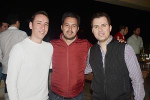 Jorge, Nono y Tavo