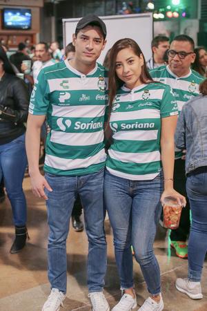 Alfredo y Laura.