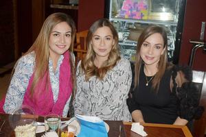 Sonia, Monica y Claudia