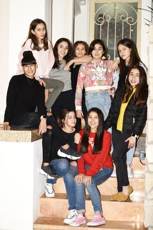 Camila Negrete, Camila Saldaña, Ana Sofía Mendoza, Ema Hayakawa, Sofía Vargas, Sofía Martínez, Valeria Peimbert y Rosetta Tejagg