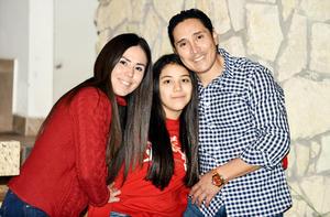 Fernanda Rodriguez Galindo, Roberto Rodriguez Madrid y Monica Galindo Herrera
