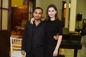 Dassaev Taller y Romina Samaniego