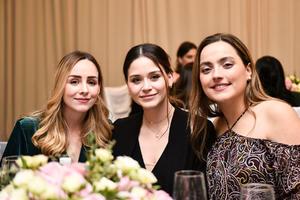 Mariana, Alicia y Luisa.