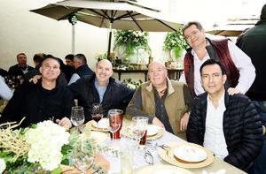 Gavo, Javier, Fernando, Paco y Nacho