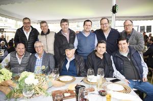 Javier González, Jorge, Antonio, Jorge, Arturo, Carlos, Fernando, Luis, Beto, Ricardo, Manolo, Ray