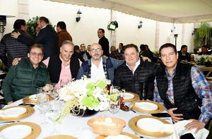 Jesús González, Jesús Monarrez, Ricardo Gamboa, Enrique González, Dibero Olivier