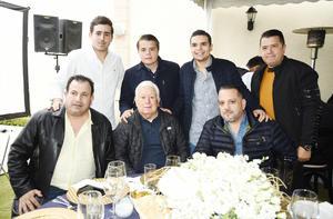 Jesús Sotomayor, Jesús G. Sotomayor, Jorge G. Sotomayor y José Sotomayor, Rodolfo Kawas, Ruperto Kawas, Jorge García Coraza