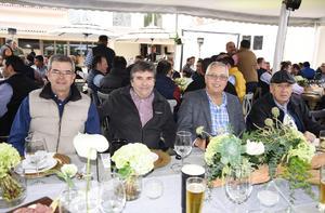 Jorge Dueñes Zurita, Antonio González Dueñes, Alberto Dueñes Sirgo y Luis Dueñes Sirgo