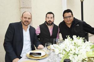 Manuel, Polo y Cristopher