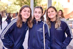 Victoria, Maria Jose y Pilar.