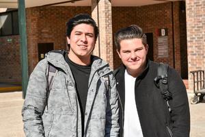 Gustavo y Daniel.