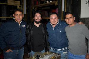 05022020 LA PASAN GENIAL.  Willy, Leonel, Fernando y Luis.