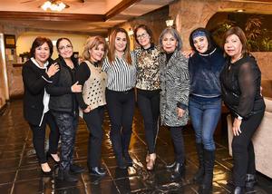 05022020 ENTRE AMIGAS.  Claudia, Estelita, Rosy, Lorena, Rocío, Yuli, Azucena y Diana.