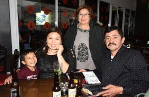 05022020 Elena, Luis, Yolanda y Daniel.