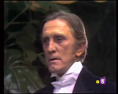 El primer trabajo de Douglas para televisión fue en 1973, a la edad de 57 años, cuando el actor ya había dejado atrás su momento dorado en la gran pantalla. Protagonizó una versión musical de Dr. Jeckyll and Mr. Hyde, emitido por la NBC.