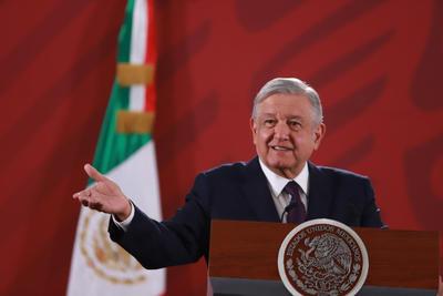 López Obrador informó sobre la aeronave en su conferencia matutina.
