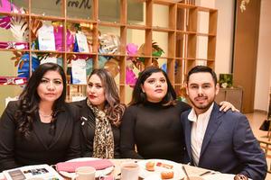 06022020 Verónica Gutiérrez, Miriam Mendoza, Karime Martínez y Daniela Cruz.