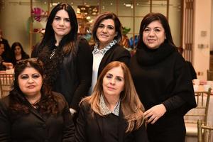 06022020 Mayela Pinedo, Alma Gándara, Vianey Salazar, Aracely González y Dulce Alpizcueta.