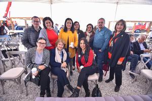 07022020 Asistentes a la colocación de la primera piedra del parque industrial Centauro Industrial Park en Gómez Palacio.