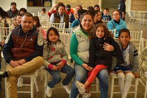 07022020 EVENTO CULTURAL.  Manuel, Vanessa, Jazmín, Fátima y Ángel.