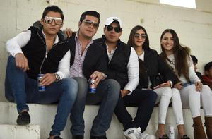 07022020 Alejandro Hamdan, Giovanni Cerrato,  Rafael Viesca, Andrea Alvarado y Any Alanís.