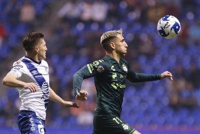 Santos Laguna empata ante Puebla en desafortunado juego para los Guerreros