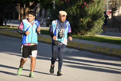 Hubo corredores de todas las edades.