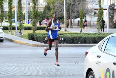 Participaron corredores extranjeros.