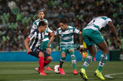 Santos vs Monterrey     Copa MX cuartos de final ida Guerreros vs Rayados