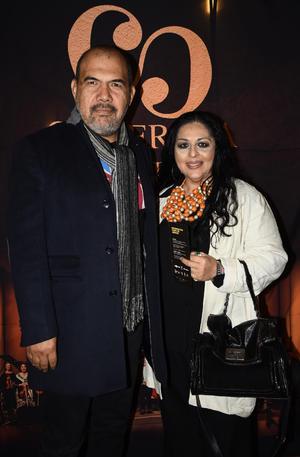 08022020 EN LA CAMERATA.  Óscar González y Alejandra de la Peña.