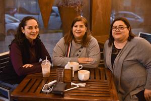 10022020 Susana, Claudia e Ivette.