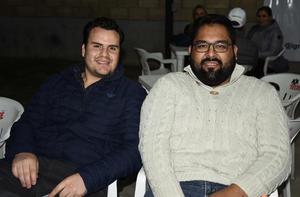 08022020 AMIGOS.  Andrés Hamdan y Julio Antúnez.