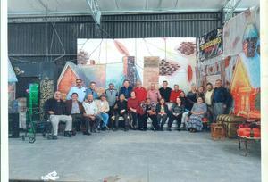 09022020 UNA GENERACIóN FUERA DE SERIE.  Reunión del pasado mes de diciembre en la Casa de Piedra, generación XII 1968- 1973.