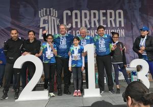 09022020 PREMIACIóN.  Susana Rangel Giacomán primer lugar en la categoría de 10 años en la carrera de La Constitución.