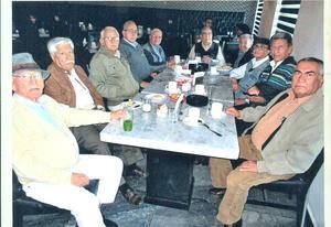 09022020 REUNIóN MENSUAL.  Grupo de adultos mayores amantes de la vida en una de sus reuniones sabatinas el pasado mes de enero.