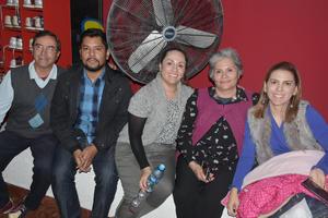 08022020 Armando, Alberto, Cristina, Graciela y Claudia.