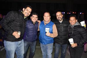 12022020 Beto, Daniel, Darío, Beto y Carlos.