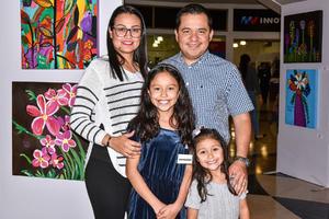 12022020 Maribel Becerra, Óscar Guerrero, Romina Guerrero y Alexa Guerrero.