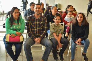 08022020 EVENTO DE CUENTACUENTOS.  Lizeth, Rafael, Rafael y Ariadna.