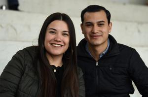 12022020 RECIENTE EVENTO.  Michelle Villarreal y Fernando Aguilera.