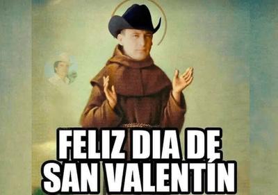 'Feliz Día de San Valentín'; llegan los memes por el 14 de febrero