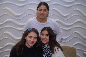14022020 Sofía, Sandra y Briana.