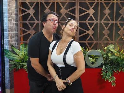 Niurka y Jurgan Jacobo visitan el foro de SigloTV
