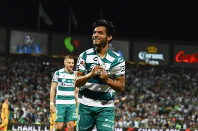 SANTOS LAG VS TIGRES MTY LIGA MX    Santos Laguna VS Tigres de Monterrey jornada 6 Liga MX 2020, Santos 2 Tigres 1