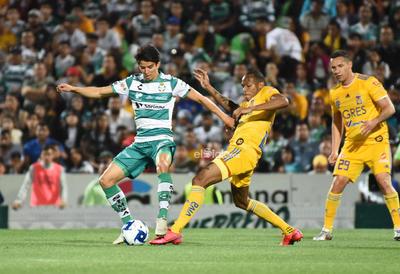 SANTOS LAG VS TIGRES MTY LIGA MX    Santos Laguna VS Tigres de Monterrey jornada 6 Liga MX 2020