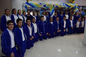 16022020 EXPORIENTA 2020.  Representantes de la Secundaria Rafael Ramírez Castañeda de Lerdo, Dgo.