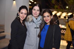 Maleny, Lynette y Sofía