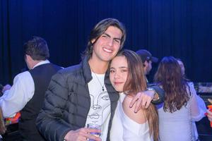 Mario Calderon y Raquel Anzures.