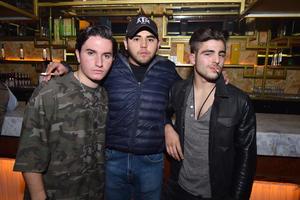 Emilio, JuanPi y Alak